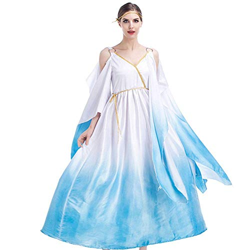 Göttin Griechischen Der Kostüm - AIYA Big Swing Kleid Cleopatra Kleid Griechische Göttin Cosplay Kostüm Halloween Kostüm