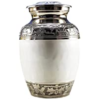 Esplanade urna para cenizas crematorias Memorial Container Jar Pot para cenizas humanos sigue siendo   latón Urns   Metal Urns   funeraria Urns