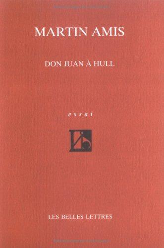 Don Juan à Hull : La Nouvelle morale et les poètes