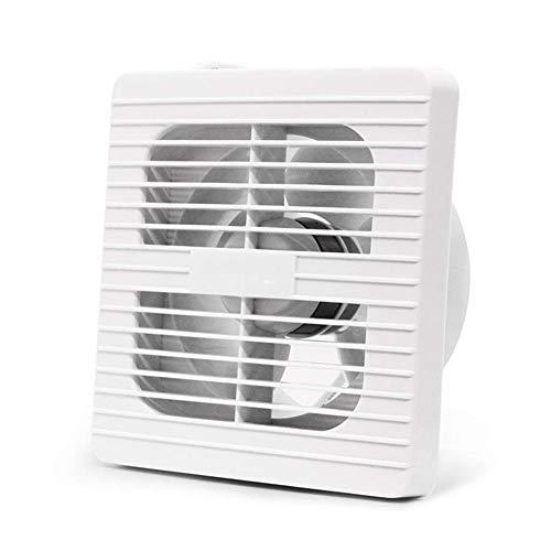 EtexFan Ultraleiser Abluftventilator Wandmontage Home Bad Küche Garage Entlüftung Luftvolumen 65M³/H, 12W Geringer Energieverbrauch (Ø100mm) -