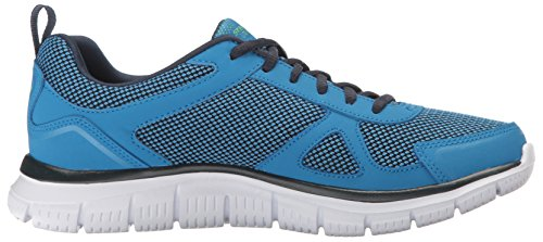 Skechers Track, Chaussures de Running Homme Blue/Lime