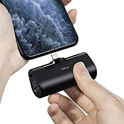 iWALK Mini Chargeur Portable 4500mAh, Power Bank Ultra Compacte, Batterie Externe Compacte et Mignonne Compatible avec iPhone 11 Pro/XS Max/XR/X/8/7/6/Plus,AirPods et Plus