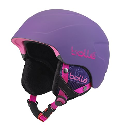 Bollé Kinder B-Lieve Skihelm Soft Purple Spray 53-58 cm