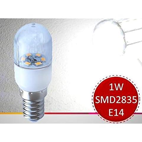 4pezzi set 1W E14230V 6000K lampadine MINI–Lampadina LED lampadina per forno a microonde frigorifero aspirante - Forno Pera