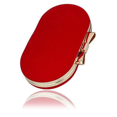 SSMK  Evening Bag, Damen Clutch Rot