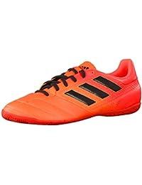 adidas Ace Tango 17.3 in J, Chaussures de Football en Salle Mixte Enfant - Rouge - Rouge (Rojsol/Negbas/Narsol), 30 EU