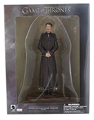 Game of Thrones Collectable Toy - PVC Statue - Petyr Littlefinger Baelish 8 Inch Action Figure
