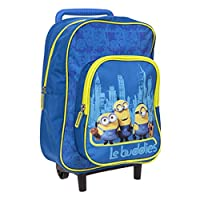 Official Despicable ME 2, Trolley, Suitcase, Kids, Travel Bag, for Holiday OR School Days, Birthday Gift
