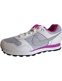 online retailer 0aa74 54f4a Nike MD Runner (GS) - Runningschuhe für Damen, Weiß (White Wolf
