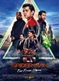 Spider-Man : Far from Home - French Movie Wall Poster Print - 43cm x 61cm / 17 inches x 24 inches A2