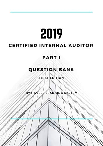 stion Bank: Certified Internal Auditor - Essentials of Internal Auditing (English Edition) ()