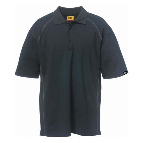 Caterpillar Cat Polo Advanced, Blau, Größe XL Schwarz
