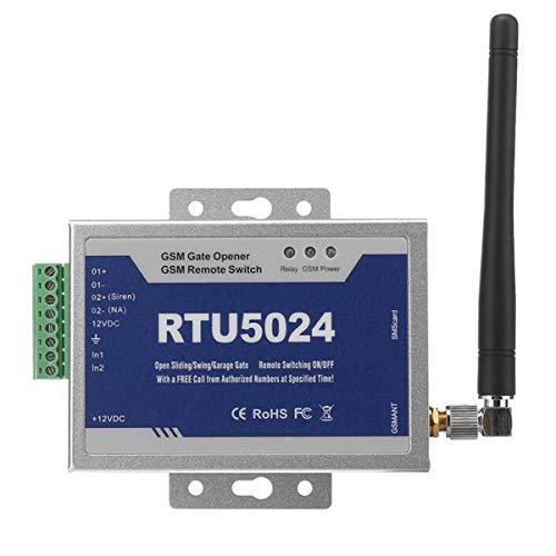 Toröffner GSM Opener Garagentor,GSM Tür Tor Opener Remote,Aus-Schalter Gratis Anruf SMS (RTU5024) (Telefon Garagentoröffner Mit)
