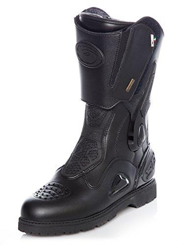 Sidi Armada Gore-Tex Motorcycle Boots 48 Black (UK 12.5)
