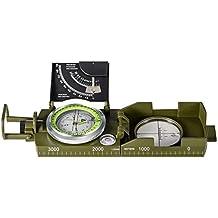 BNISE Bussola Militare, Impermeabile ed a Prova di polvere, Guida Direzionale, test funzioni Di scala ed Orizzontale, Adatta per uso all'esterno per, Escursionismo, Campeggio
