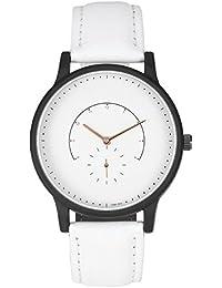 AMPM24 WAA1001 - Reloj Hombre Analógico Simple Cuarzo de Blanco