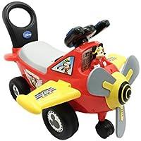 Kiddieland correpasillos avión Disney Mickey Mouse Plane Light & Sound Kids Ride-On Toys