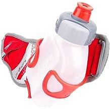 UltrAspire UltrAspire Ion Human8 - Botellero riñonera (226,8 gr), color rojo y gris