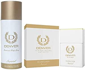 Denver Hamilton Imperial Deodorant And Perfume Combo
