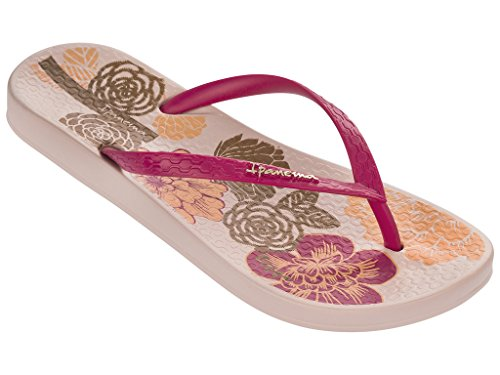 Ipanema , Tongs pour femme multicolore Mehrfarbig pink (20791)