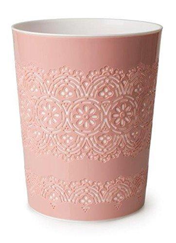 Canyon 9 Liter Flora Abfallbehälter Korb Aufbewahrungsbehälter für Büro Zimmer Badezimmer Verbrauch., rose, 9L