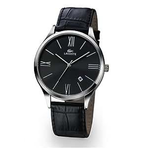 Lacoste -1.2300G.33 - Montre Homme - Quartz - Bracelet Cuir Noir