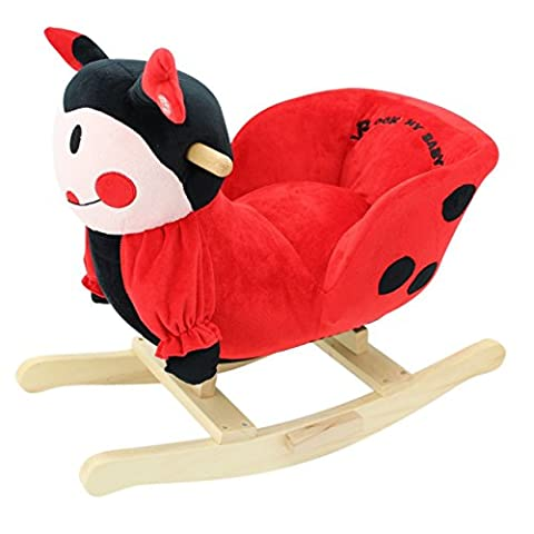 Sweety Toys 5161 Rocking Animal Ladybird So Sweet/Elegant Design