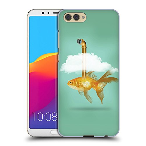 Tasche Periskop (Offizielle Vin Zzep Periskop Goldfisch Fisch Ruckseite Hülle für Huawei Honor View 10 / V10)