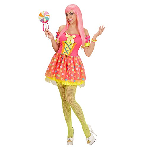 Imagen de widmann 49193–adultos disfraz candy girl, vestido y piruleta alternativa