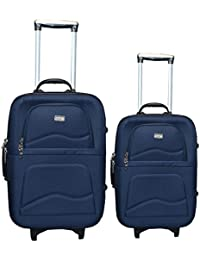 "Luggage Combo Set (Pack Of 2) Trolley Bag 20""(Cabin Luggage) & 24"" (Check-in Luggage)"
