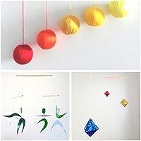Set of 3 Montessori inspired mobiles - Orange Gobbi, Dancers, Octahedron. Montessori mobile. Baby mobile. Hanging mobile. Crib toy.
