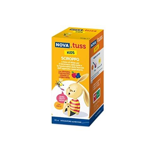 Nova Argentia Nova Tuss Kids Sciroppo Integratore Alimentare 125 ml