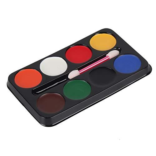 Clown Ölfarbe 6 Farben 8-Farben Halloween Wasser Farbe Gesicht Fans Make-up Gesichtsfarbe Teufel Ölfarbe (0)