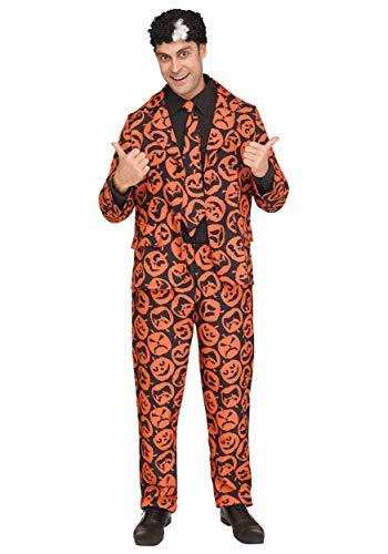 Unbekannt Mens David S. Pumpkins Fancy Dress Costume -