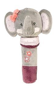 Nattou NA424127-Alfombras de juego y gimnasios, color sonajero de agarre elefante adèle (424127)