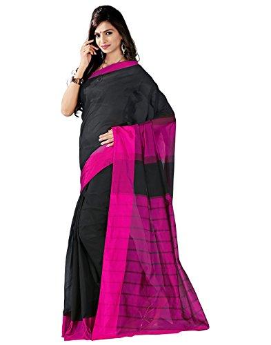 E-Vastram Raw Silk Saree (Msatp _Pink)