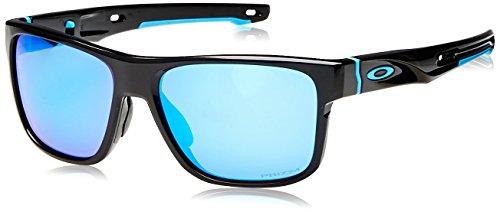 Oakley Herren Crossrange 936113 Sonnenbrille, Schwarz (Negro), 57