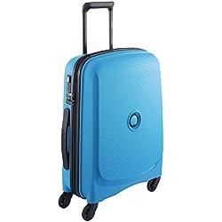 DELSEY Paris Belmont Bagage cabine, 38 litres, Bleu metallique