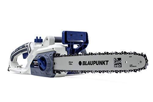 "Blaupunkt Garden Tools Electric Chainsaw CS4000 - High Power 2400W AC Motor - 45cm (18"") Blade - SDS Tool Free - Automatic Chain Brake"