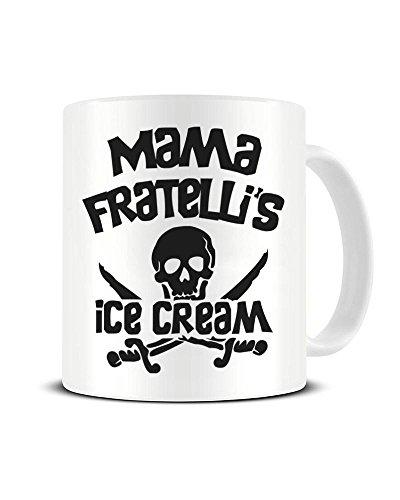 Mama Fratelli's Ice Cream Ceramic Coffee Mug