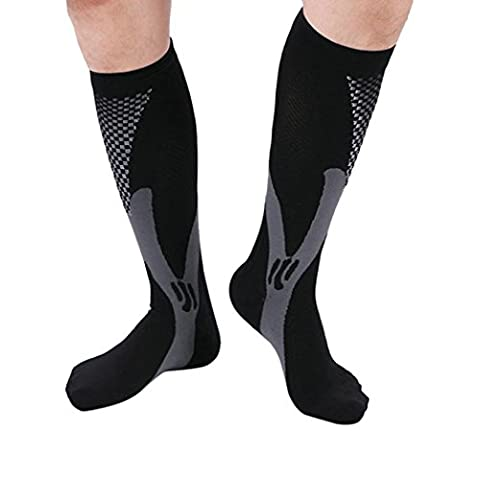 VEMOW New Men Women Compression Socks Athletic Fit for Running