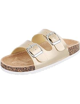 Pantoletten Damenschuhe Jazz & Modern Leichte Ital-Design Sandalen / Sandaletten