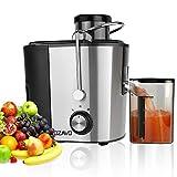 OZAVO Centrifuga Frutta e Verdura, Estrattore di succo, Centrifuga Motore, contenitore e Spazzola...