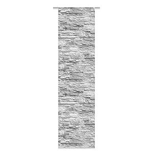 Home Fashion SCHIEBEVORHANG DEKOSTOFF Digitaldruck WALLI, Stoff, anthrazit, 245 x 60 cm