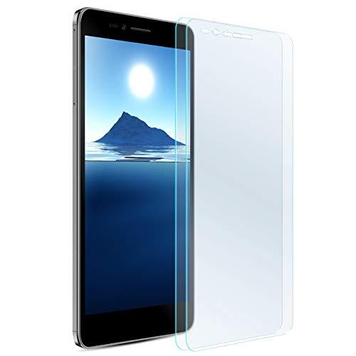 Zhinkarts 2X Bildschirmschutz Panzer Folie für Huawei Honor 5X Bildschirmfolie Panzerglas Echt Glas Schutzglas 9H