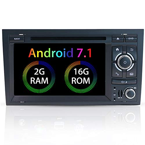 YUNTX Estereo de Doble DIN, en Dash Audio con Sistema de Navegación...