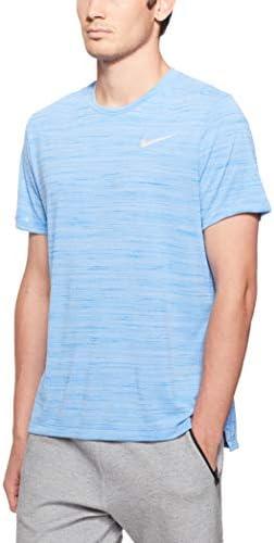 Nike Miler Miler Miler Essential tee 2.0, (nero HTR, Small), Signal blu Htr, Medium   Eccellente  Qualità    Buon design    Acquisti online    A Prezzi Convenienti  b2b795