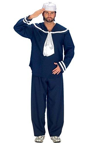 (Andrea-Moden Matrosen-Anzug Anzug für Seefahrer Kostüm und Matrosen Kostüm für Männer Größe L)