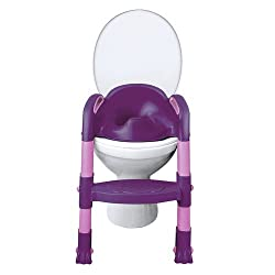 "FUNNY Toiletten-Trainer ""Kiddyloo"" Baby-Toilette, brombeer/lila"