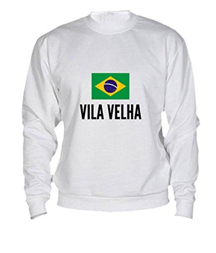 Felpa Vila velha city White